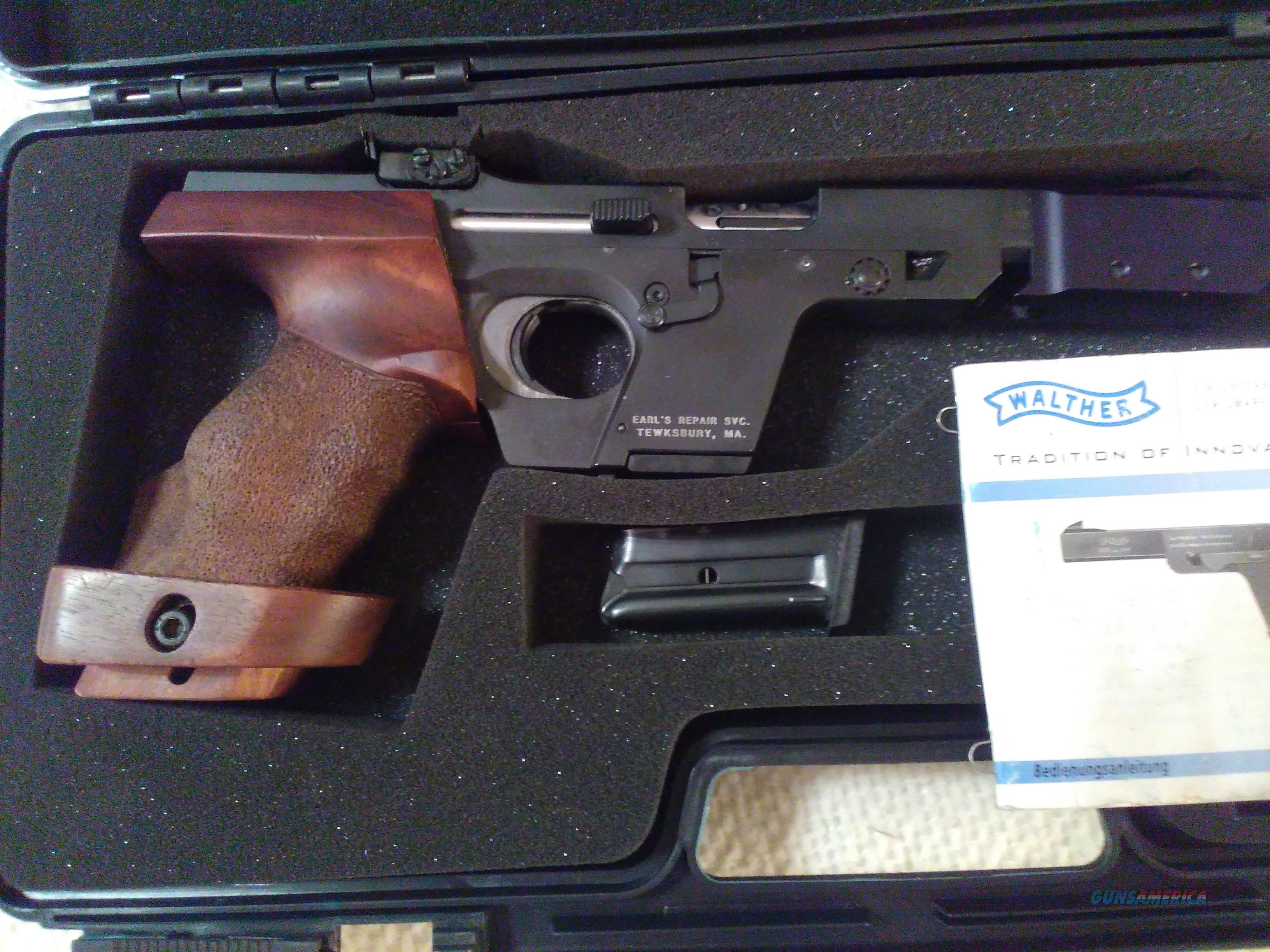 walther gsp 22 for sale rh gunsamerica com Walther Target Pistols walther gsp user manual
