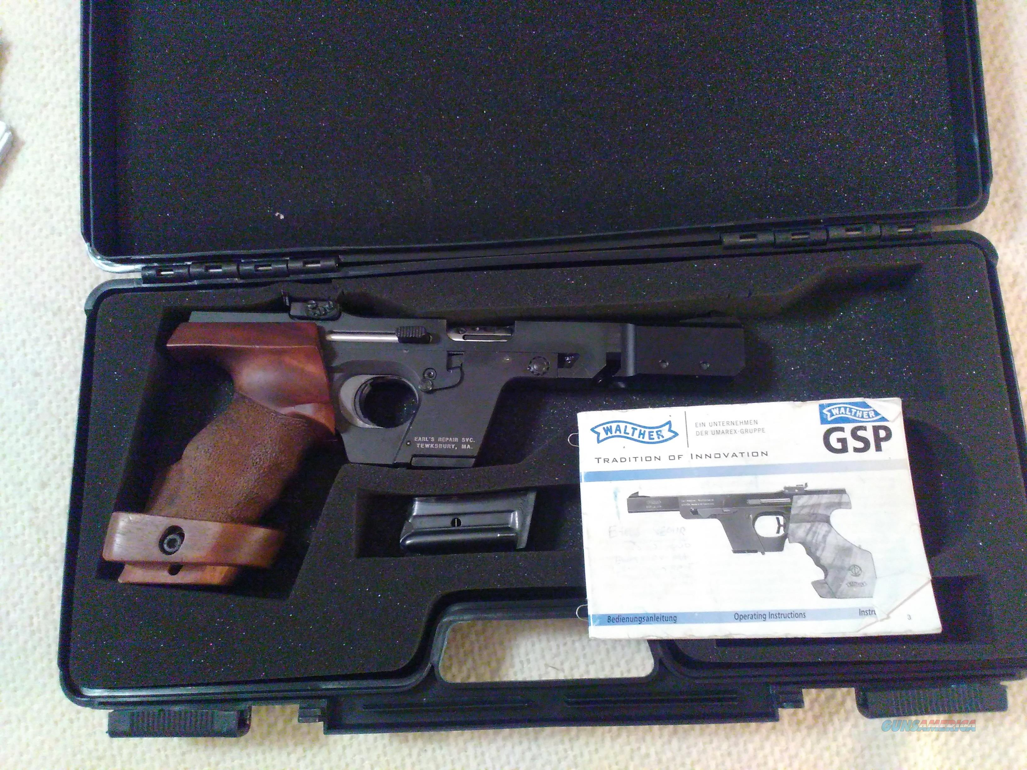 walther gsp 22 for sale rh gunsamerica com walther gsp user manual WWII Walther Firearms