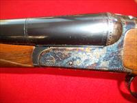 "Tri Star ""Brittany"" 12 gauge. Has 27"" barrels with 3"" chambers."