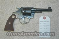 Colt Police Positive Mfg 1932 (Re-Blued)