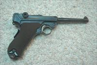 DWM Luger 1906 with backstrap safety 30 caliber