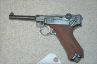 Mauser S/42 Luger dated 1917