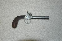 Belgian Antique Muff Pistol .44 Caliber