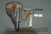 German Erfurt Luger ALL MATCHING WITH CAPTURE PAPERS