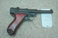 Erfurt Luger Dated 1911 Refinished Shooter (30 Cal)