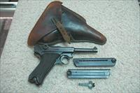 BYF Black Widow Luger w/ 2 Mags and holster (1941)
