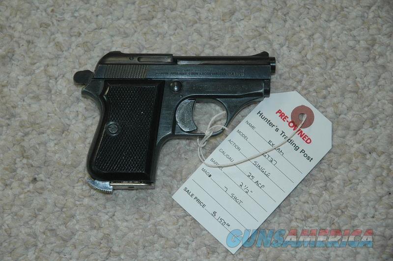 Tanfoglio/Excam GT 27 Pocket Pistol 25 ACP