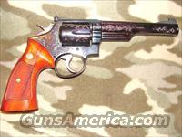 Smith & Wesson 19-3 Engraved