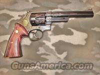 Smith & Wesson 44 Mag Engraved