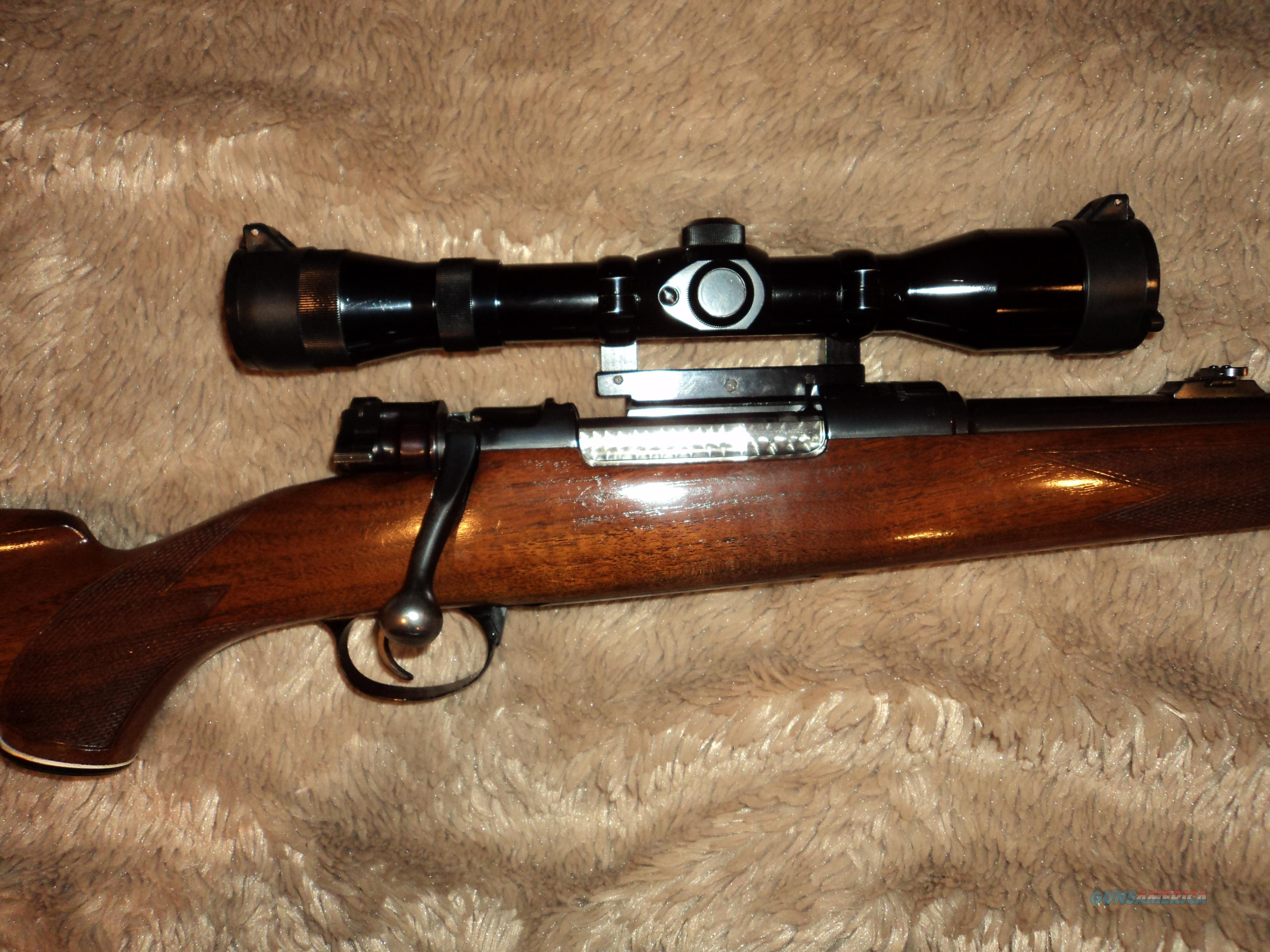 BRNO 8mm Mauser (8x57), Jaeger mount, Nickel Scope