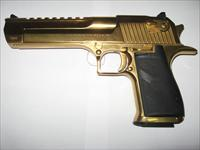 Magnum Research Desert Eagle 50AE 24 Karat Gold NIB!!