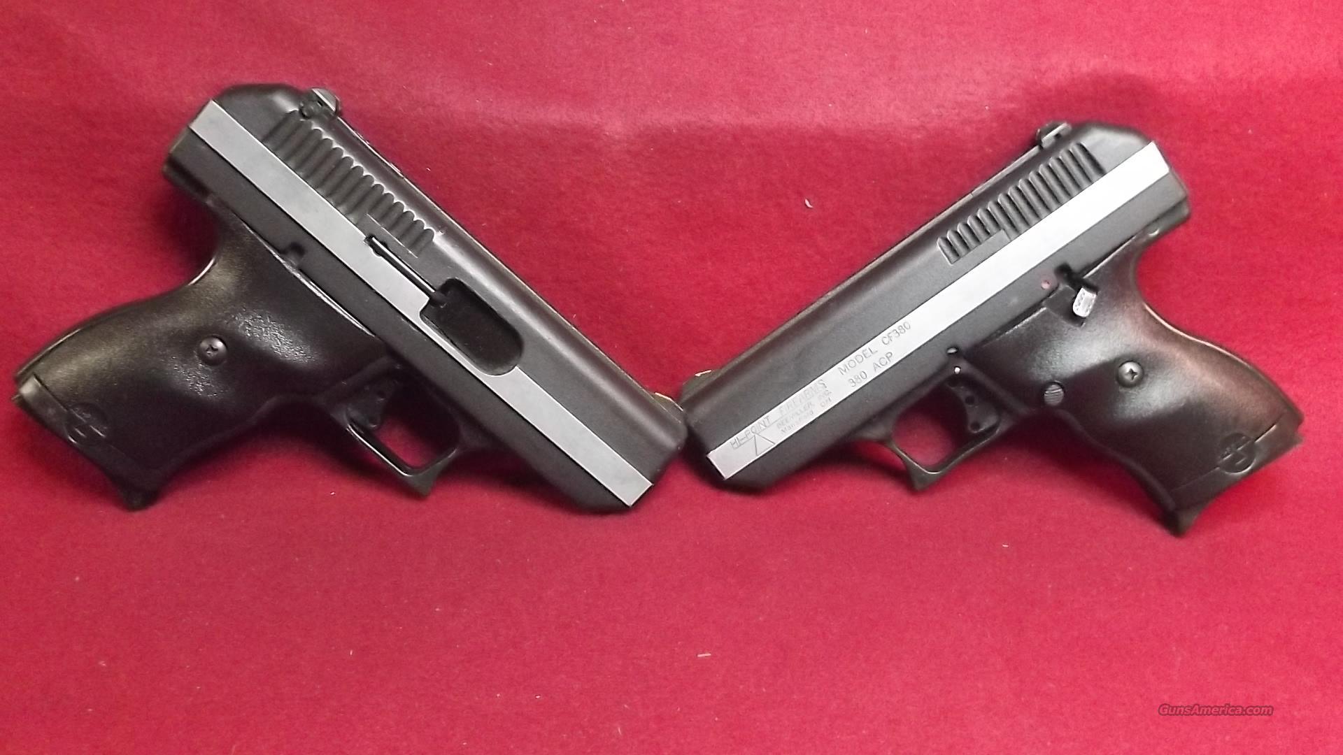 HI POINT 380 X TWO (BUYING 2 GUNS)