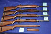 WWII M1 Carbines all arsenal reworks, all Davidsons imports, priced seperately