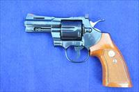 "COLT Python 3"" barrel, Royal Blue, in orig box with papers, appears unfired"