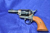"COLT SAA Third Gen 3"" Sheriff's Model Blue/CC 44-40 with aux 44SPL cyl 2 line patent date"