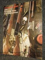 Winchester 1981 arms & ammo catalogs, 100
