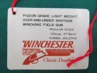 Winchester 101 hang tags, Pigeon, Diamond, XTR LW, Waterfowl