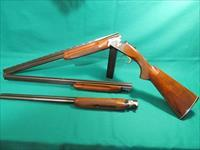 Golden Eagle 5000-2 O/U, 3-gauge skeet set, 20/28/410 new unfired