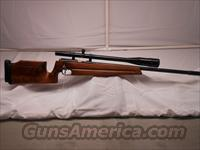 Walther BV 22LR Target Rifle with a Redfield 16x Scope