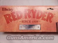 "Millennium Edition Diasy Red Ryder Serial Number ""1"""
