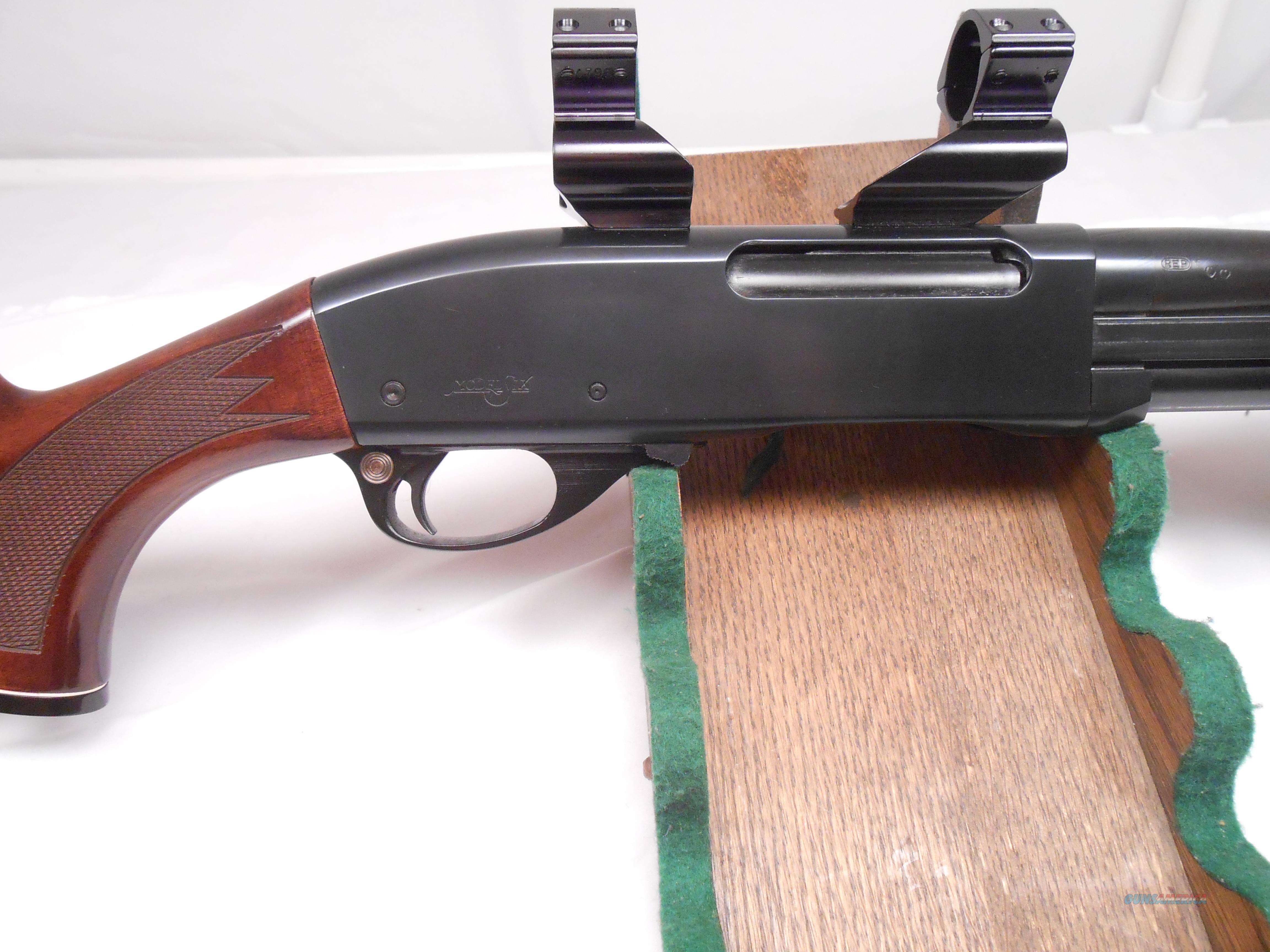 how to clean a remington 30 06 pump