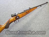 "!* CUSTOM *! K 98 ""Cigarette "" Rifle 1946 Era Bolt action 8MM Mauser caliber- one of a kind!  REDUCED! & O.B.O.!!"