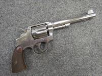 **! CLASSIC !** Smith & Wesson 3rd Model! 38 Spl,6 inch barrel, nickle finish, Nice grips! V.G. & O.B.O.!