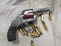 "~*! CLASSIC !*~ American SNUB NOSE! H&R ""THE AMERICAN"" 6-Shot 32 S&W REVOLVER! BEAUTIFUL NICKLE FINISH! Free Ammo & O.B.O.!!"