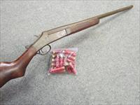 !!** SWEET **!! STEVENS / SPRINGFIELD Single shot Shotgun! Sturdy and reliable! FREE AMMO! REDUCED!  & O.B.O.!