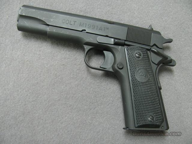A1 Auto Sales >> Colt 1991A1 Series 80 .45 ACP Matte Black finish