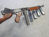 ~!!*  AWESOME  *!!~ AUTO ORDNANCE TOMMY GUN! WALNUT STOCKS! Cal 45 acp ! Extra mags REDUCED & O.B.O.!!