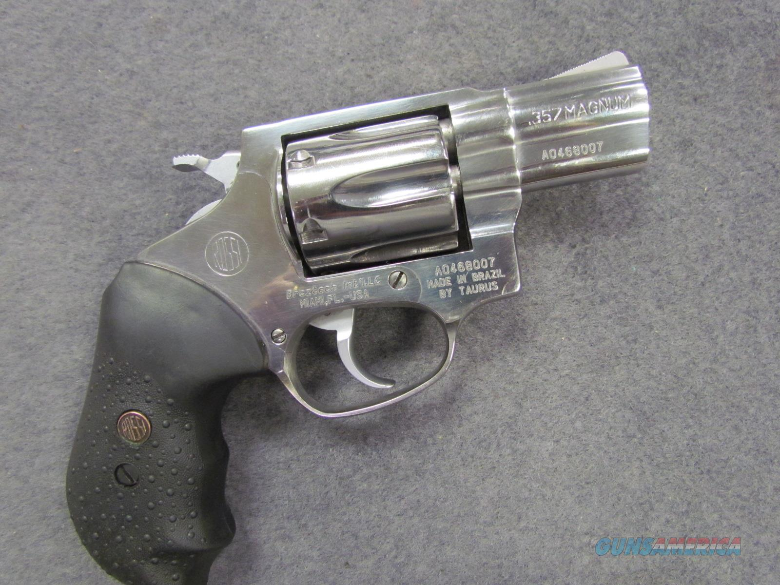 !*~ BEAUTIFUL~*! ROSSI Model 462 357 MAGNUM SNUB NOSE! 6 shot Stainless  Steel! Lifetime warranty! Like New & O B O !!