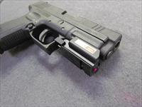 "~! CUSTOM !~ SPRINGFIELD ARMORY XD! RED LASER! Green ""NITE SITES""! 10 Round Stainless mag ! EXC & O.B.O.!"