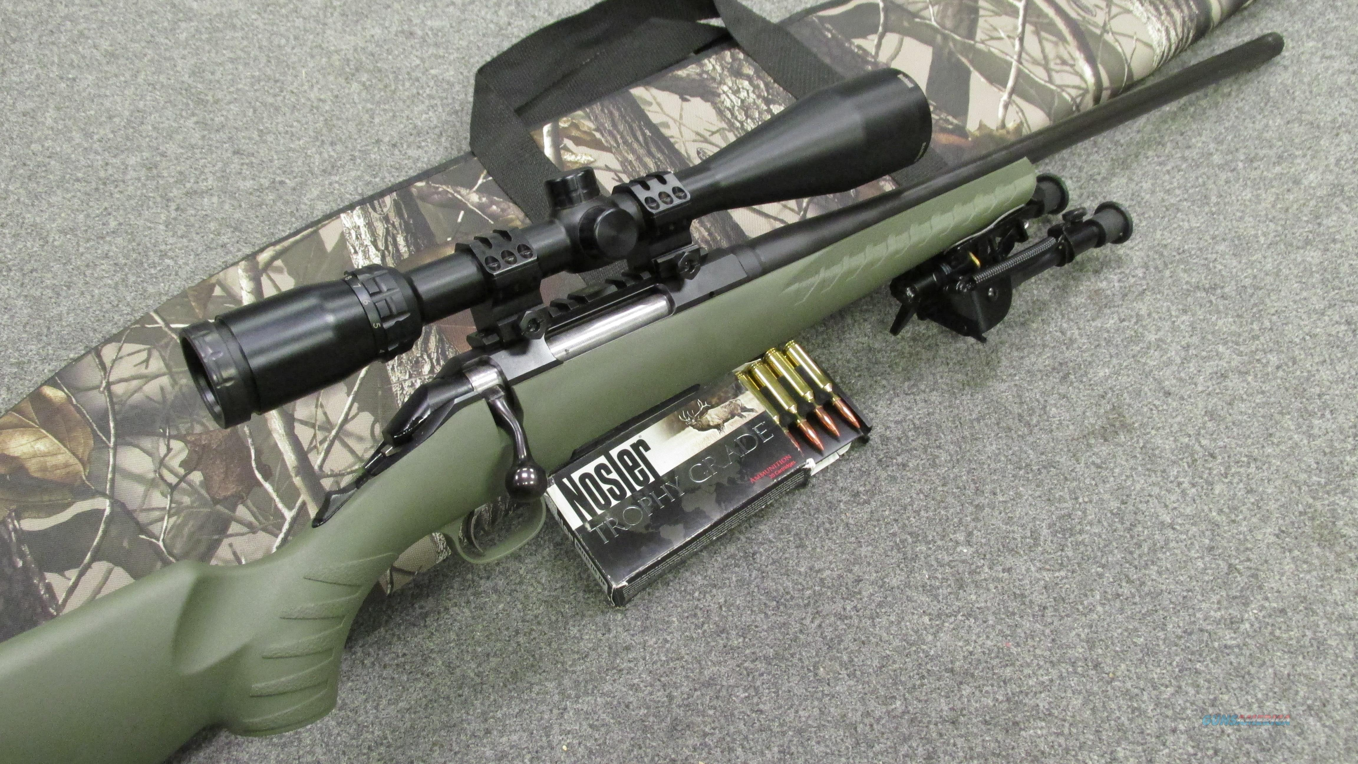 ~!* AWESOME *!~ CUSTOM RUGER AMERICAN Package in 6 5 CREEDMORE! Bi-Pod  Thread Bbl  3-9x scope  EXC & O B O !