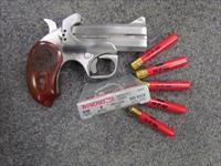 ~! AWESOME !~ BOND ARMS SNAKE SLAYER!! All stainless .410/45 Colt  caliber Derringer Exc FREE AMMO! REDUCED & O.B.O.!