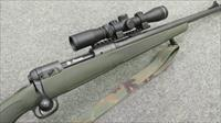 ~!* AWESOME *!~ CUSTOM SAVAGE SCOUT RIFLE! 2-7X Scope! WARNE Q.D. rings! O.D. Green Stk, ACC MuzzleBRAKE! Exc.! REDUCED ! & O.B.O.