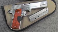 ~!^ BEAUTIFUL & SCARCE ^!~ KIMBER STAINLESS II, 38 SUPER cal. With FACTORY LASER GRIPS! FREE AMMO!  EXC REDUCED! & O.B.O.!