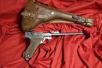 Luger Artillery Pistol W/Stock and Holster 1914