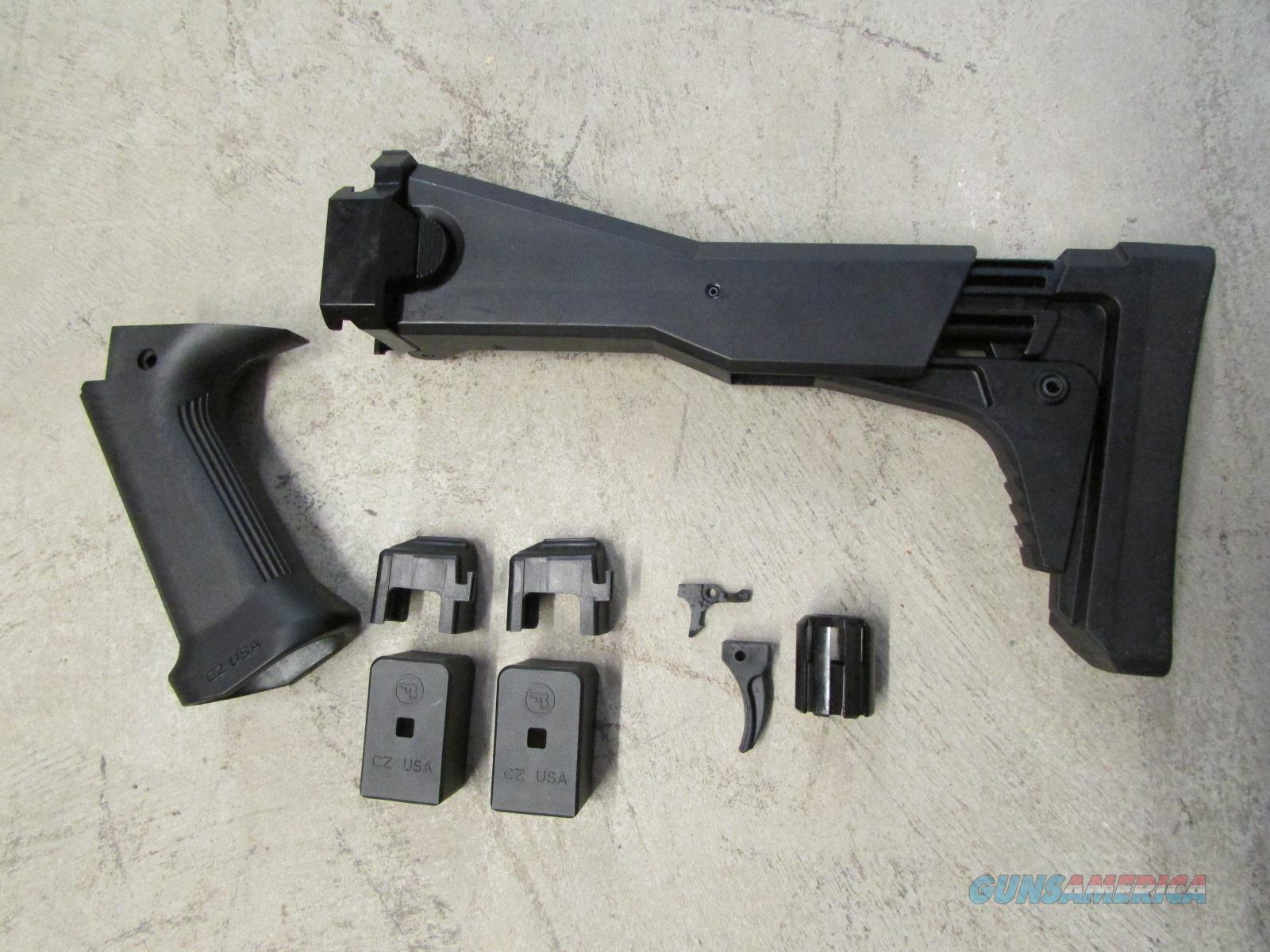 CZ-USA Factory Scorpion EVO 3 S1 Folding Stock & 922R Kit