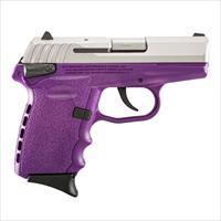 SCCY FIREARMS CPX-1 TTPU STAINLESS / PURPLE 9mm SKU: CPX-1TTPU