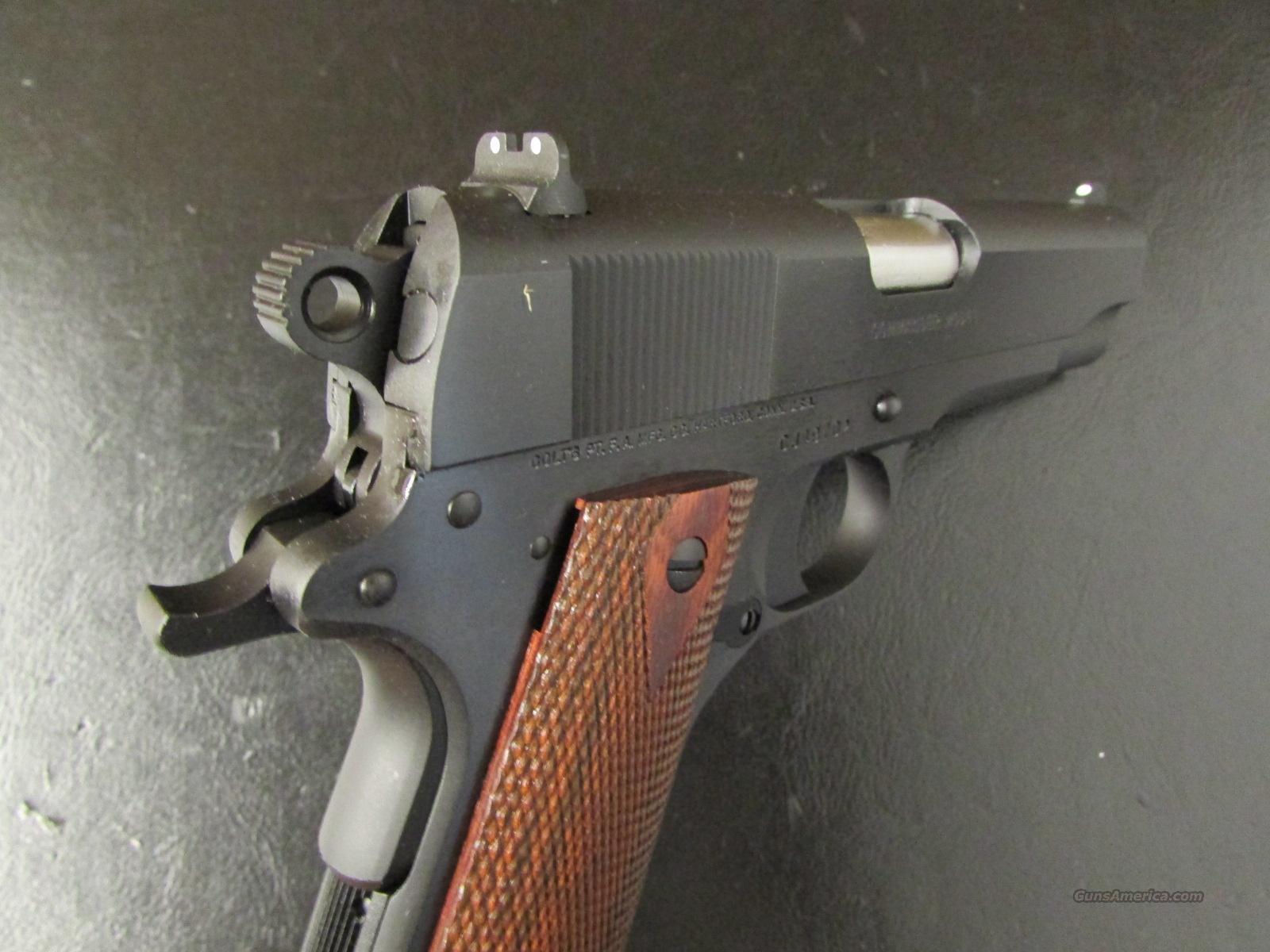 Colt 1991 A1 Blued Commander Size 1911 45 Acp For Sale