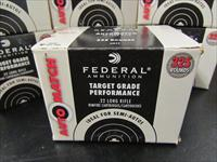 3250 Rounds Federal AutoMatch 40 Gr. .22 LR 22LR