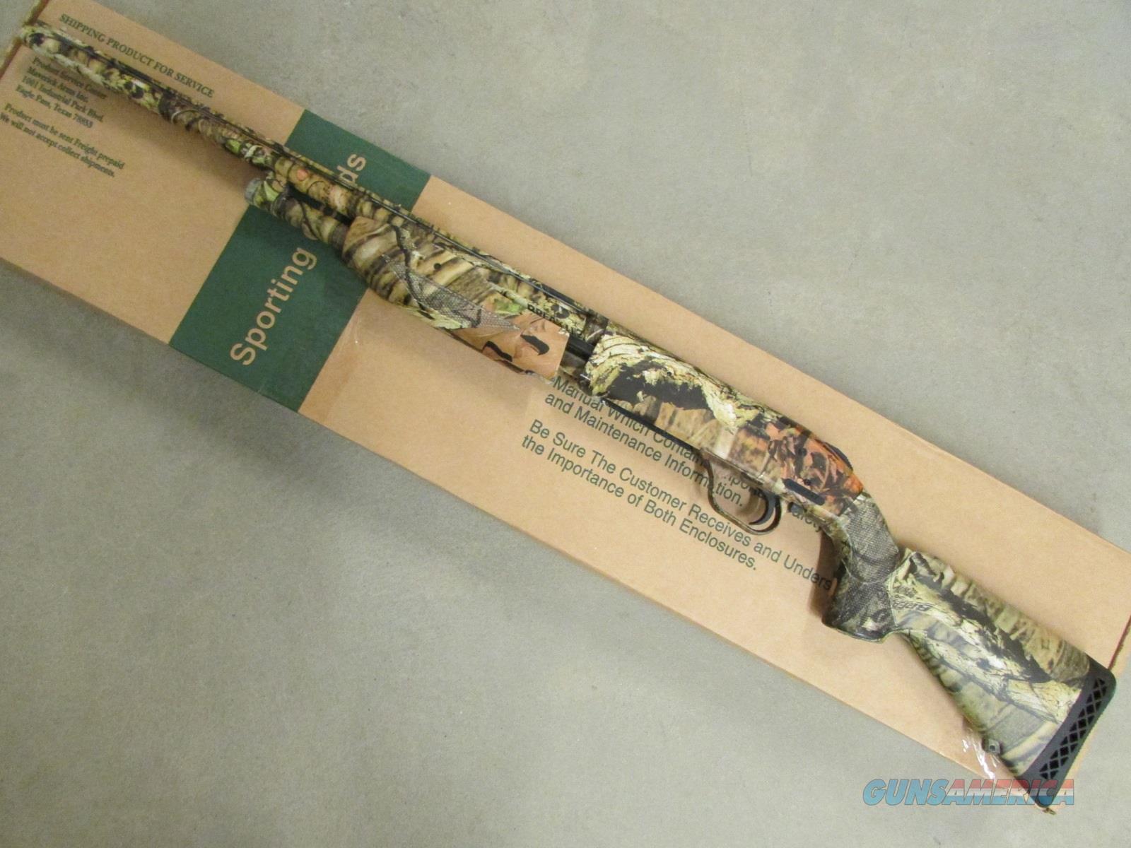 Mossberg 500 12Gauge PumpAction Shotgun w Heat Shield