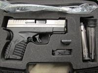"Springfield Armory XD-S 3.3"" Single Stack Bi-Tone 9mm XDS9339SE"