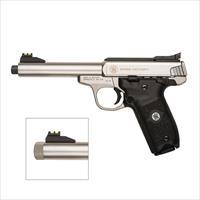 "Smith & Wesson SW22 Victory .22 LR 5.5"" Threaded 10201"