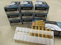 200 ROUNDS FEDERAL POWER-SHOK 50 GR .222 REM. 222A