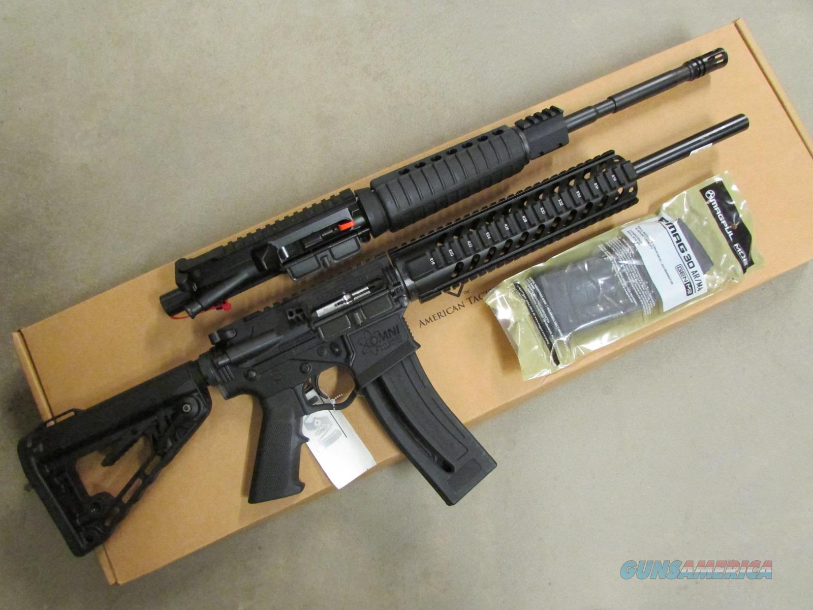ati omni hybrid combo ar 15 22 lr with complet for sale