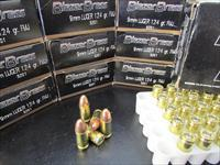 1000 ROUNDS FEDERAL CCI BLAZER BRASS 9MM 124 GR FMJ