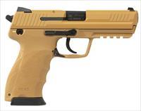 "Heckler & Koch HK45 4.4"" Sand Finish .45 ACP 745001BBLE"