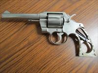 1968 Colt Official Police .38 Special Nickel 5""